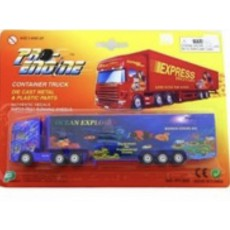 Металлическая машина Pioneer Toys Container Truck